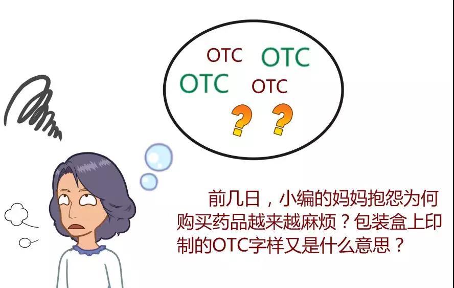 药品包装盒上的OTC字样是什么意思?