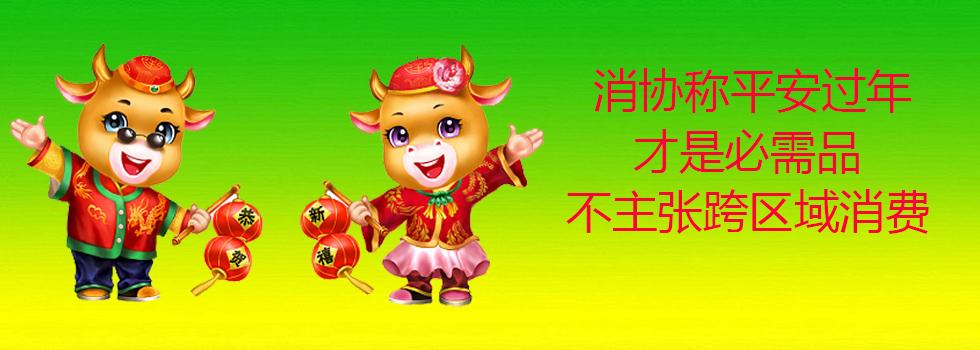 """湖北荆门消协不主张春节跨区域消费 称平安过年才是必需品--""""五个想一想"""""""